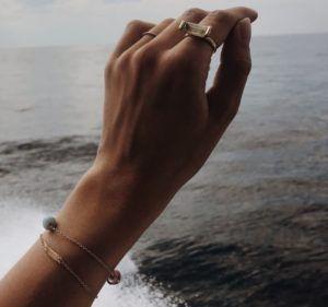 Dulong Fine Jewelry Rings  FutureFuture ring with smokey quartz