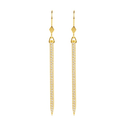 Vera Vega Earrings  ManhattanGold-plated Evita Earrings.