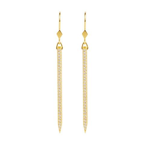 Vera Vega Earrings  ManhattanGold-plated Evita Earrings.
