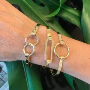 Rebekka Notkin Bangles  PRESENTPRESENT Double ring