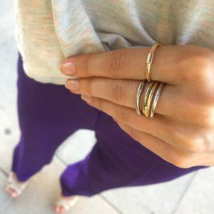 Rebekka Notkin Rings  BLOOMINGBLOOMING eternity ring in gold