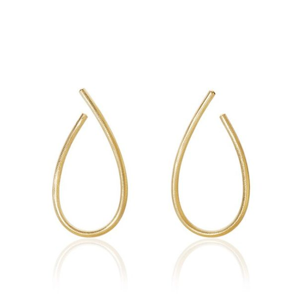 Dulong Fine Jewelry Earrings Hoops  KharismaLarge Kharisma earrings