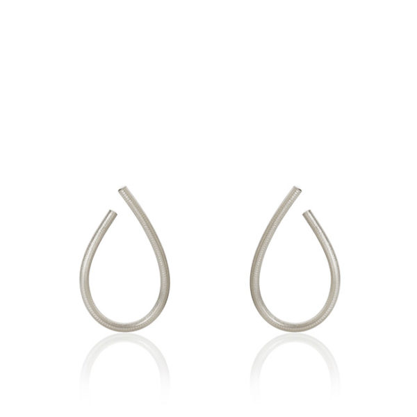 Dulong Fine Jewelry Earrings Hoops  KharismaMedium Kharisma silver earrings