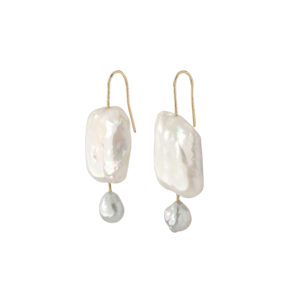 MaryLou Earrings  Maxi PearlsMaxi Pearl Earrings
