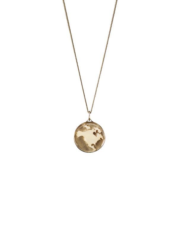 Unspoiled Jewels Necklaces  Goldplated silverGold-plated North-America