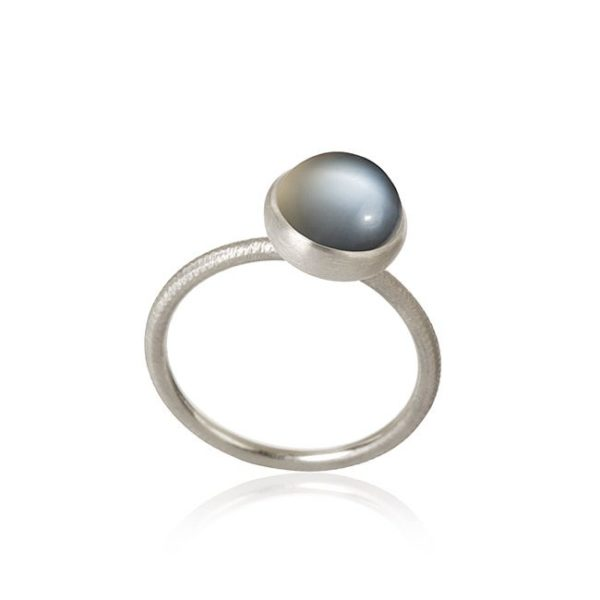 Dulong Fine Jewelry Rings  PacificSmall Pacific ring with moonstone