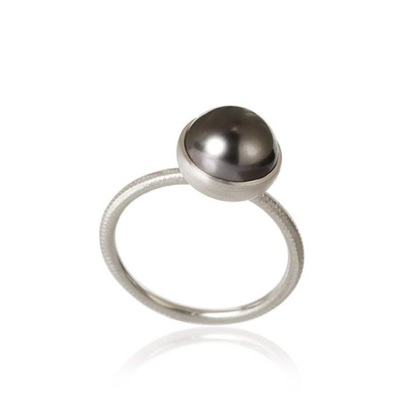 Dulong Fine Jewelry Rings  PacificPacific ring with tahitian pearl