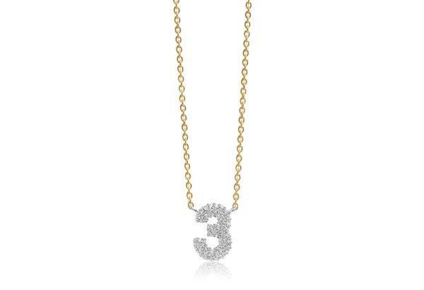 Sif Jakobs Jewellery Necklaces  NOVOLIGold-plated Novoli Tre necklace