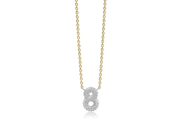Sif Jakobs Jewellery Necklaces  NOVOLIGold-plated Novoli Otto Necklace