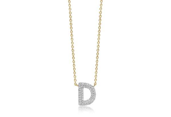 Sif Jakobs Jewellery Necklaces  NOVOLIGold-plated Novoli D necklace