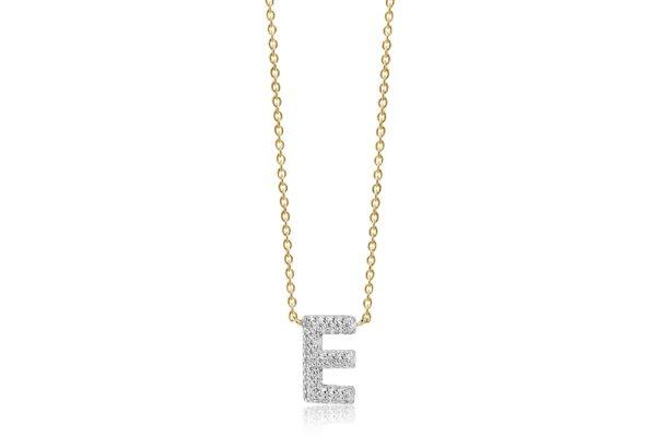 Sif Jakobs Jewellery Necklaces  NOVOLIGold-plated Novoli E necklace