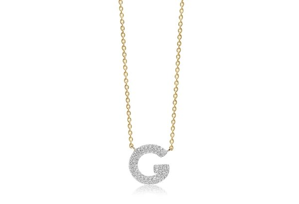 Sif Jakobs Jewellery Necklaces  NOVOLIGold-plated Novoli G necklace