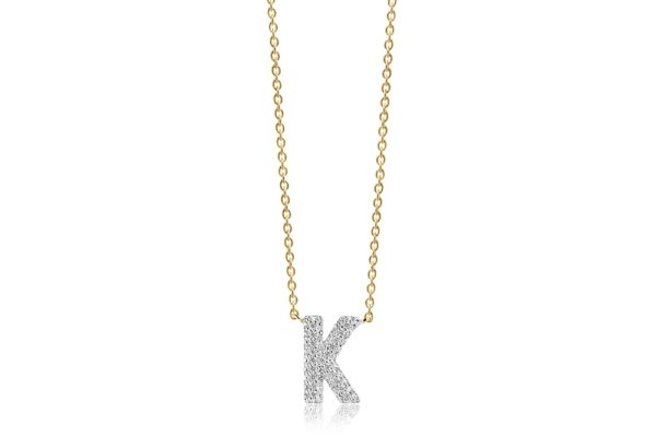Sif Jakobs Jewellery Necklaces  NOVOLIGold-plated Novoli K necklace