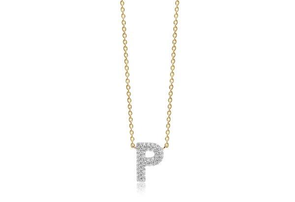 Sif Jakobs Jewellery Necklaces  NOVOLIGold-plated Novoli P necklace