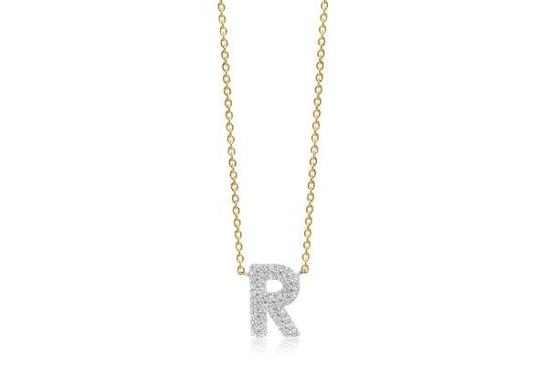 Sif Jakobs Jewellery Necklaces  NOVOLIGold-plated Novoli R necklace