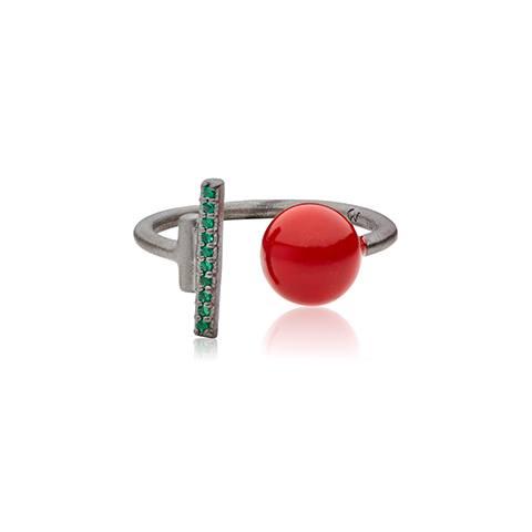 Vera Vega Rings  SymbolsSilver Sparkling Ballroom ring.
