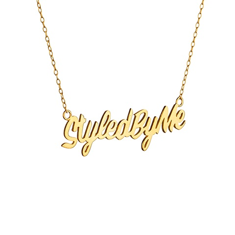 Vera Vega Necklaces  SymbolsGold-plated Styled By Me Necklace.
