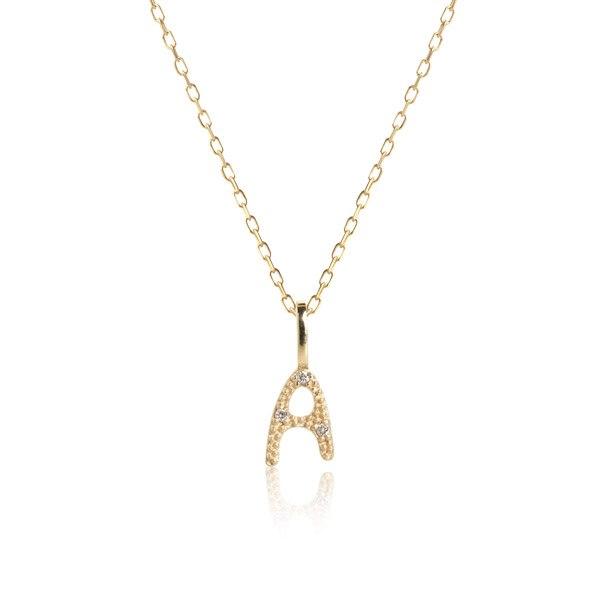 Carré Jewellery Necklaces  COPENHAGENLetter necklace A