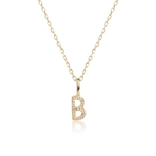 Carré Jewellery Necklaces  COPENHAGENLetter necklace B