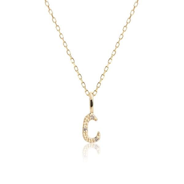 Carré Jewellery Necklaces  COPENHAGENLetter necklace C