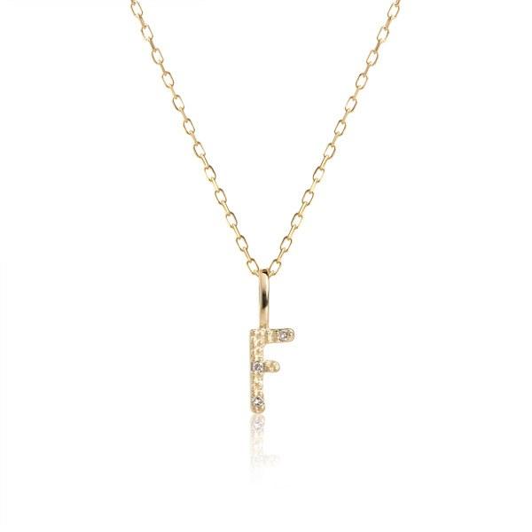 Carré Jewellery Necklaces  COPENHAGENLetter necklace F