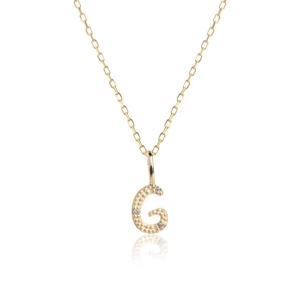 Carré Jewellery Necklaces  COPENHAGENLetter necklace G