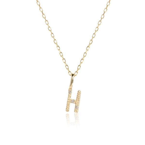 Carré Jewellery Necklaces  COPENHAGENLetter necklace H