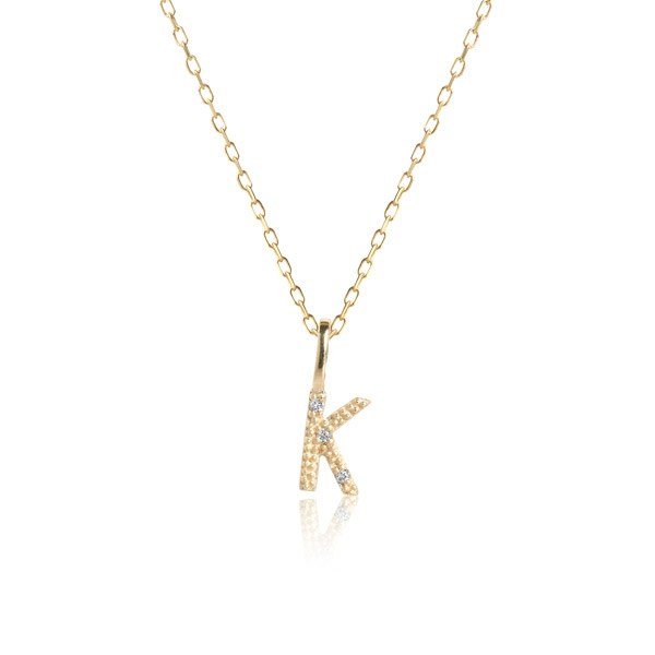 Carré Jewellery Necklaces  COPENHAGENLetter necklace K