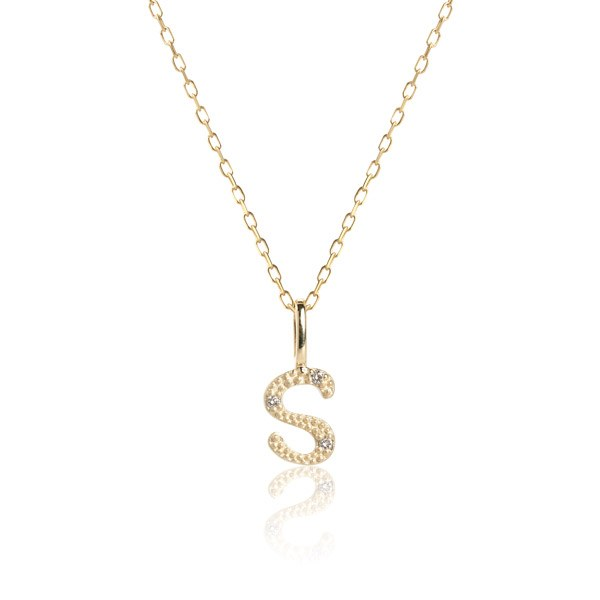 Carré Jewellery Necklaces  COPENHAGENLetter necklace S
