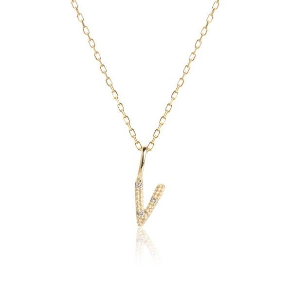 Carré Jewellery Necklaces  COPENHAGENLetter necklace V