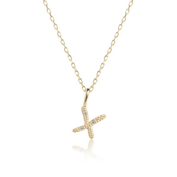 Carré Jewellery Necklaces  COPENHAGENLetter necklace X