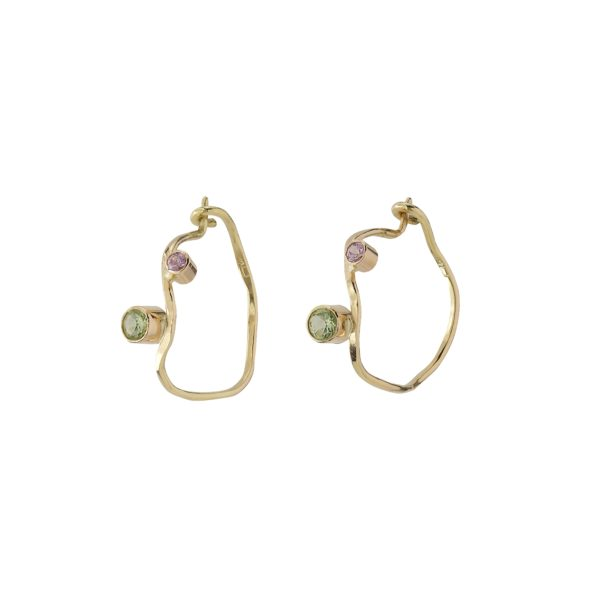MaryLou Earrings Hoops  TiaréTiaré Creol Earrings