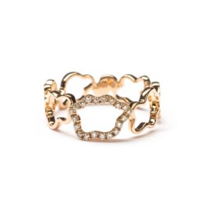 Vieri Responsible Fine Jewellery Rings  Golden Clouds CollectionGolden Clouds Collection Ring Band