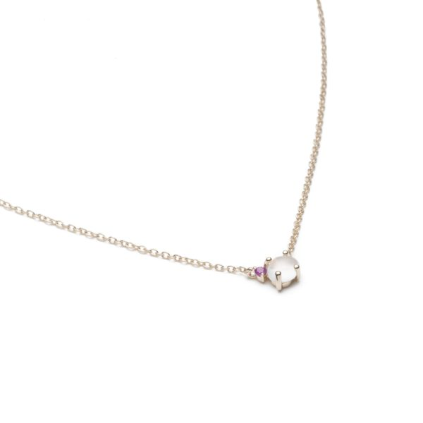 Vieri Responsible Fine Jewellery Necklaces  Tiny Clouds CollectionTiny Clouds Collection Necklace Ruby Red