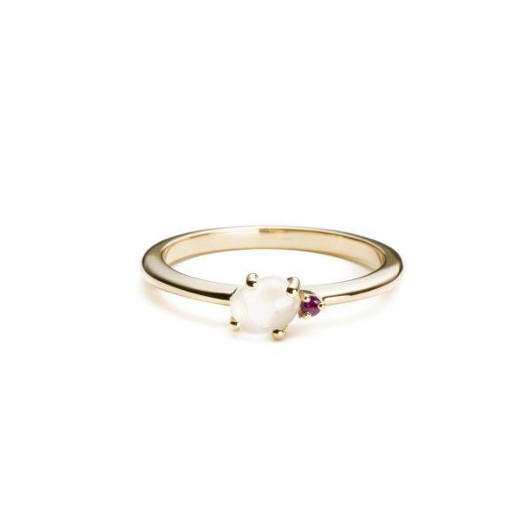 Vieri Responsible Fine Jewellery Rings  Tiny Clouds CollectionTiny Clouds Collection Ring Ruby Red