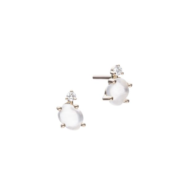 Vieri Responsible Fine Jewellery Earrings  Tiny Clouds CollectionTiny Clouds Collection Studs