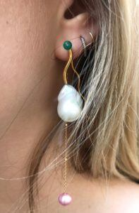 Pernille Lauridsen Earrings  WavesAmphitrite