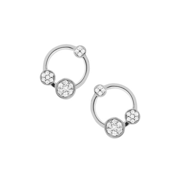 Josina Earrings  GalaxyGalaxy whitegold earrings