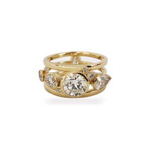 Josina Rings  High FiveHigh Five ring in gold