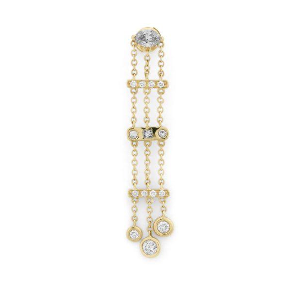 Josina Earrings  EarringsWow Gold Earring