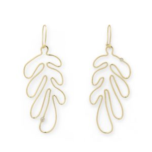 Josina Earrings  MATISSEMatisse yellow gold earrings
