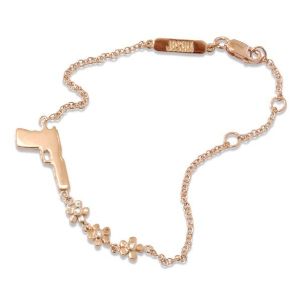 Josina Bracelets  GOLDEN GUNGolden Gun in rosegold
