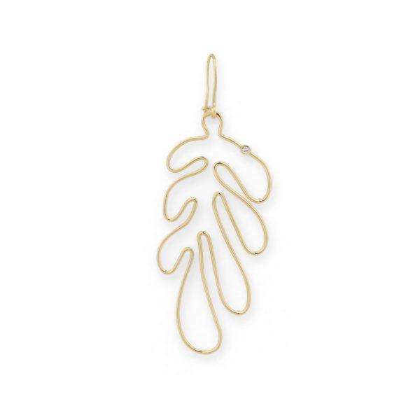 Josina Earrings  MATISSEMatisse Single gold earring