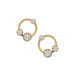 Josina Earrings  GalaxyGalaxy gold earrings