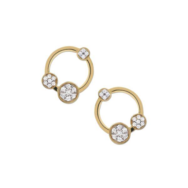 Josina Earrings  GalaxyGalaxy gold earrings