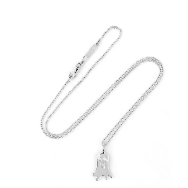 Josina Necklaces  BooBoo necklace in whitegold