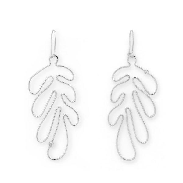 Josina Earrings  MATISSEMatisse whitegold earrings