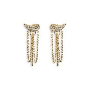 Josina Earrings  Drip DropDrip Drop gold earrings
