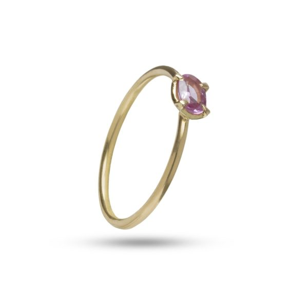 Carré Jewellery Rings  FOREVER AFTERDelicat pink oval sapphire ring