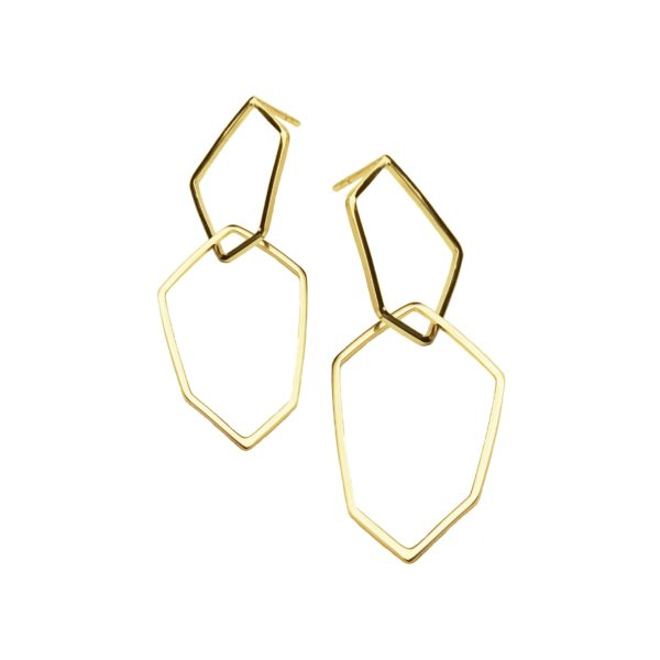 Box Jewellery Earrings  Pioni DesignPioni Design gold earrings